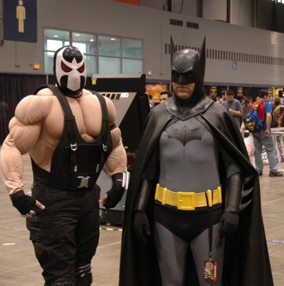 """Bane and Batman"""