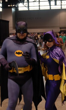 """Batman and Batgirl"""