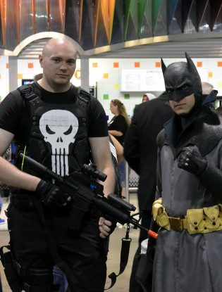 """Punisher and Batman"""